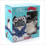 Pig the Pug 시리즈 4종 세트 + 인형 (Paperback 4권 + Audio CD 1장, 미국판)