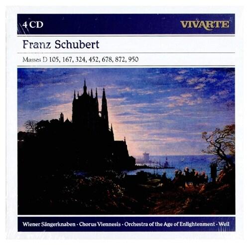 [수입] 슈베르트 : 미사곡 [4CD]
