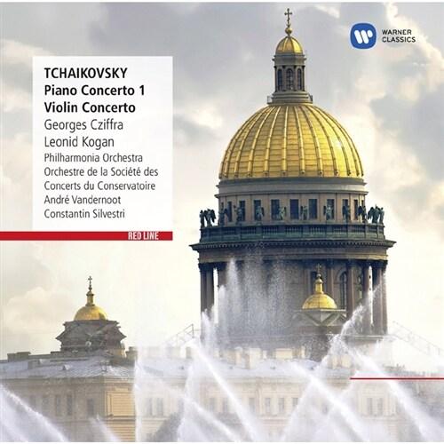 [수입] 차이콥스키 : 피아노 협주곡 1번, 바이올린 협주곡