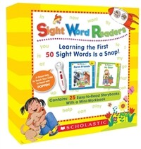 사이트워드 리더스 세트 Sight Word Readers Boxed Set (Book + CD, 팝펜 에디션)