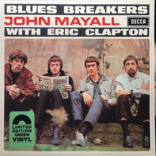 [수입] John Mayall - Blues Breakers With Eric Clapton [Mono][Limited Green LP]