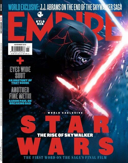 Empire (월간 영국판): 2019년 11월호 - KYLO(카일로 렌 커버)