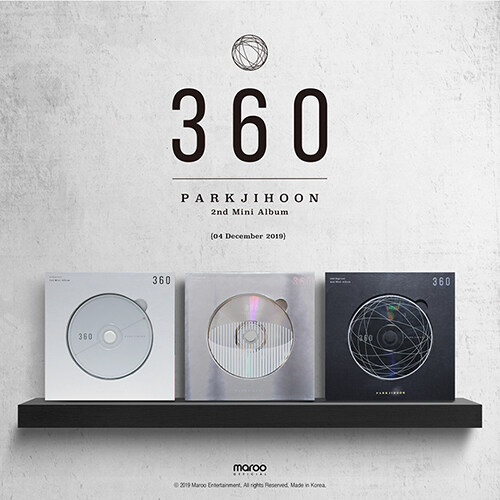 박지훈 - 미니 2집 360 [0 Degrees Ver.]