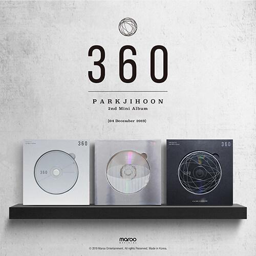 박지훈 - 미니 2집 360 [360 Degrees Ver.]