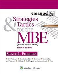 Strategies & Tactics for the MBE (Paperback, 7)