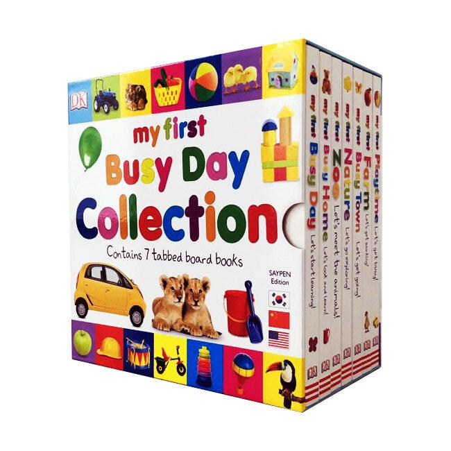 DK 마이 퍼스트 컬렉션 MY FIRST BUSY DAY COLLECTION (Boardbook 7권, 세이펜 에디션)