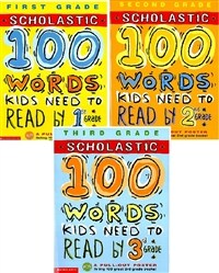 [세트] 100 Words Kids Need to Read 1~3