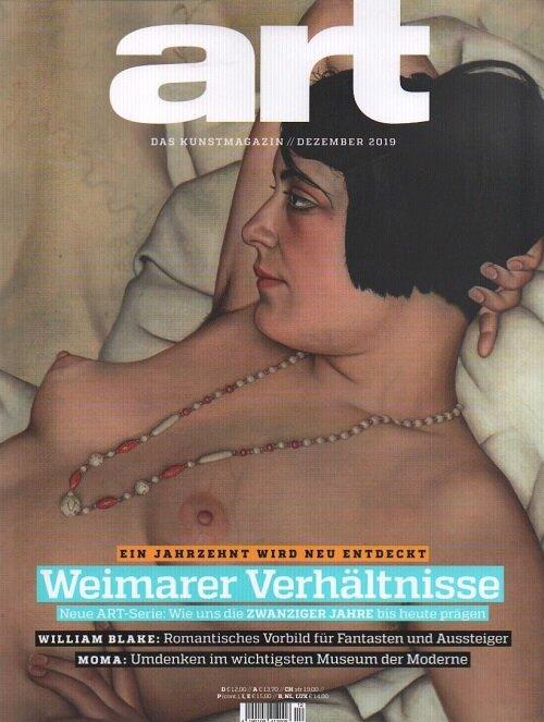 Art (월간 독일판): 2019년 12월호