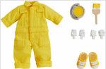 넨도로이드돌 의상 세트 컬러풀 작업복:노랑