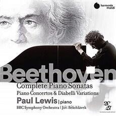 [수입] 베토벤: 피아노 소나타 전곡, 피아노 협주곡 전곡, 디아벨리 변주곡 [14 for 4]