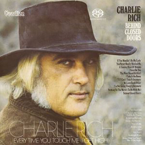 [수입] Charlie Rich - Behind Closed Doors & Every Time You Touch Me [I Get High] [Original Analog Remastered] [SACD Hybrid]
