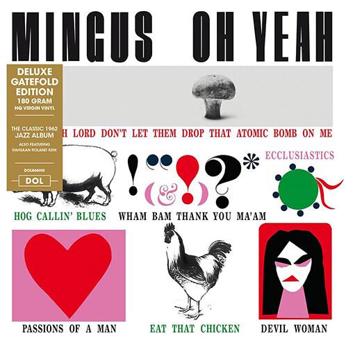[수입] Charles Mingus - Oh Yeah! [Deluxe Gatefold Edition][180g LP]