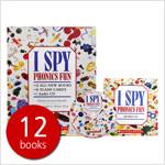 I Spy Phonics Fun 아이스파이 파닉스 펀 세트 (Paperback 12권 + CD + 플래시 카드, 세이펜 호환)