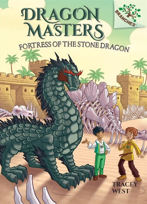 Fortress of the Stone Dragon: A Branches Book (Library Binding)