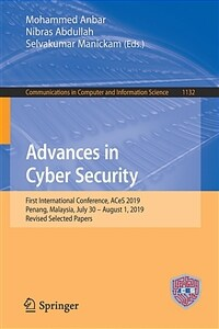 Advances in Cyber Security : First International Conference, ACeS 2019, Penang, Malaysia, July 30 – August 1, 2019 : revised selected papers