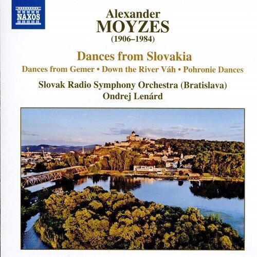 [수입] 모이제스 : 슬로바키아 춤곡 작품집