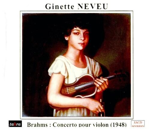 [수입] 브람스 : 바이올린 협주곡 D장조 Op.77 [SACD Hybrid]