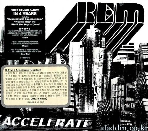 [수입] R.E.M. - Accelerate