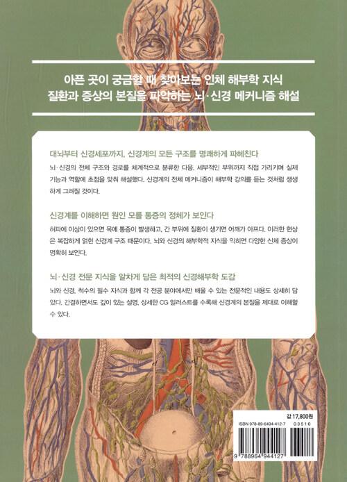 뇌·신경 구조 교과서 : 아픈 부위를 해부학적으로 알고 싶을 때 찾아보는 뇌·신경 의학 도감