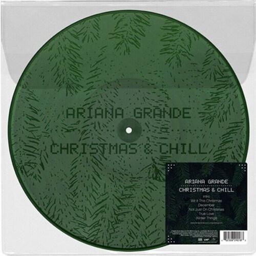 [수입] Ariana Grande - Christmas & Chill [Dark Green with Etching LP]