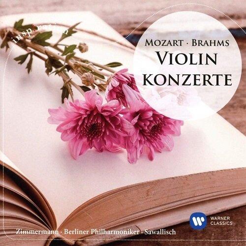[수입] 브람스: 바이올린 협주곡 / 모차르트: 바이올린 협주곡 3번