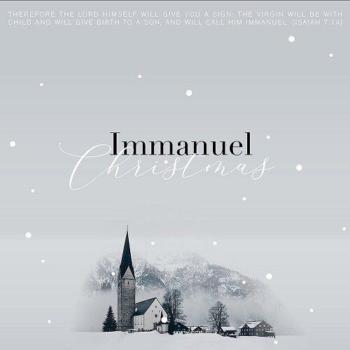 이예영 - EP앨범 Immanuel Christmas