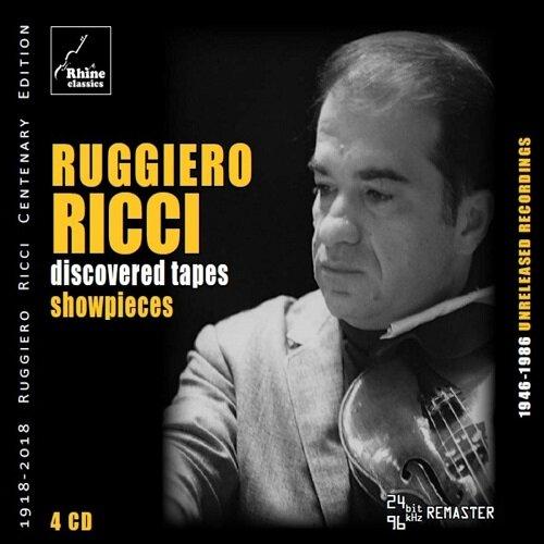 [수입] 루지에로 리치의 미공개 녹음 - 소품들 [4CD]
