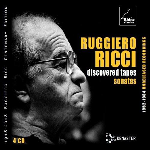 [수입] 루지에로 리치의 미공개 녹음 - 소나타 작품들 [4CD]