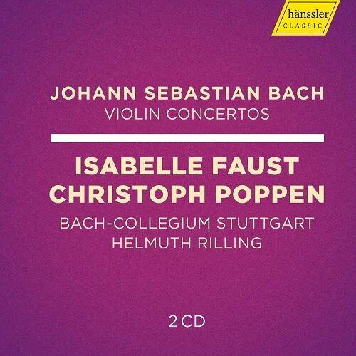 [수입] 바흐 : 바이올린 협주곡집 [2CD]
