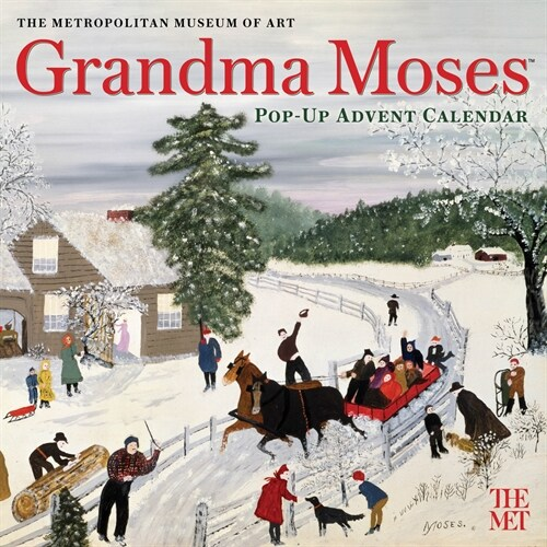 Grandma Moses Pop-Up Advent Calendar (Other)