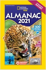 National Geographic Kids Almanac 2021 International Edition (Paperback)