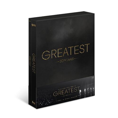 [블루레이] 지오디 - god 20th CONCERT : GREATEST Blu-ray (3disc: 2BD + 1CD)