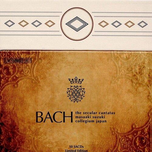 [수입] 바흐 : 세속 칸타타 전곡 [10SACD Hybrid]