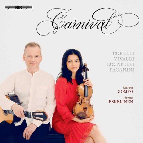 [수입] 카니발 - 바이올린과 기타를 위한 작품집 [SACD Hybrid]