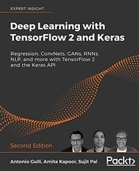 Deep learning with TensorFlow 2 and Keras : regression, ConvNets, GANs, RNNs, NLP, and more with TensorFlow 2 and the Keras API / 2nd ed