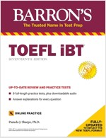 TOEFL IBT: With 8 Online Practice Tests (Paperback, 17)