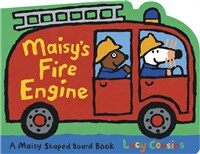 Maisy's Fire Engine: A Maisy Shaped (Board Books)