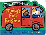 Maisy's Fire Engine: A Maisy Shaped Board Book (Board Books)