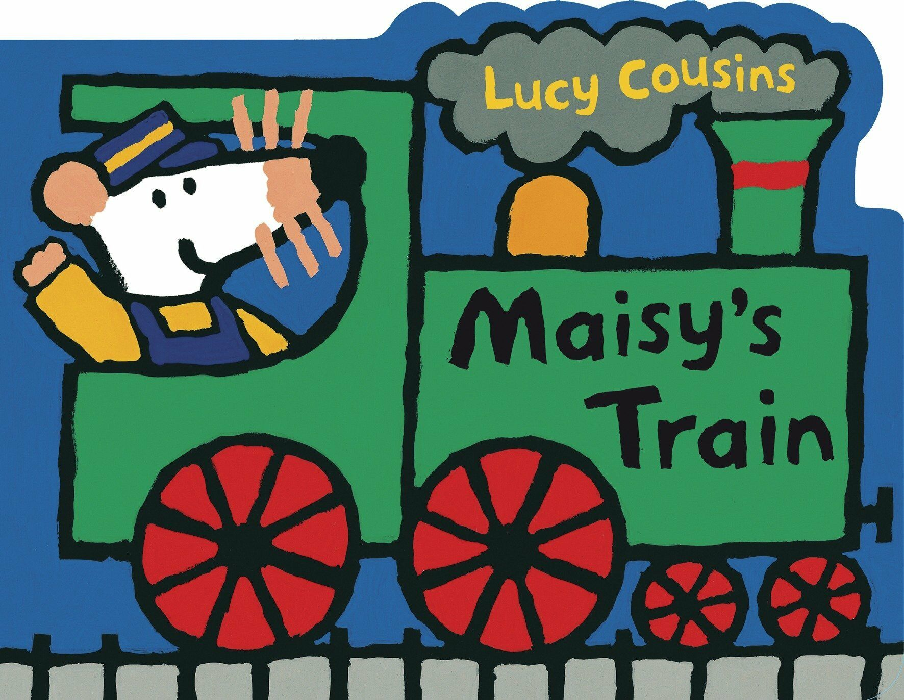 Maisys Train: A Maisy Shaped Board Book (Board Books)