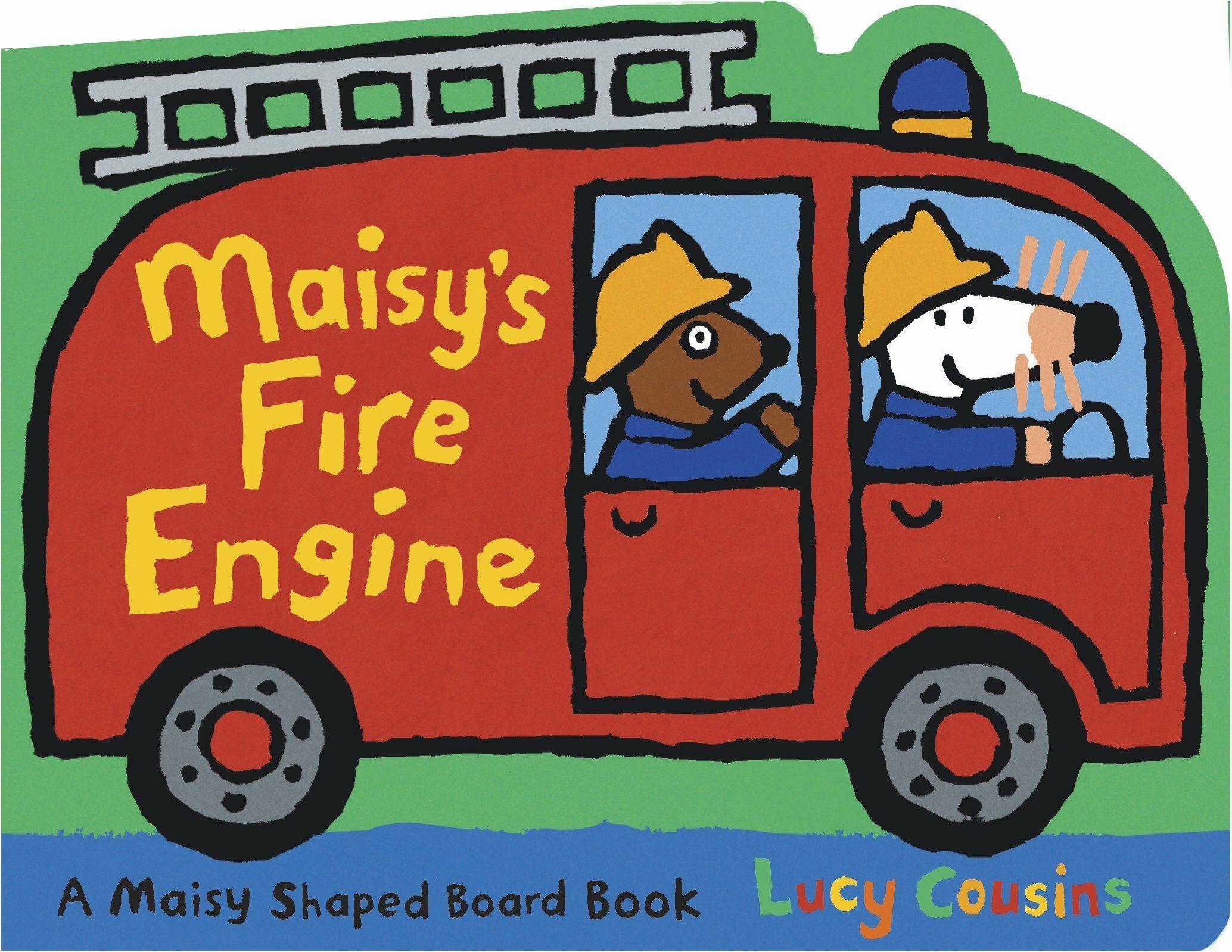 Maisys Fire Engine: A Maisy Shaped (Board Books)
