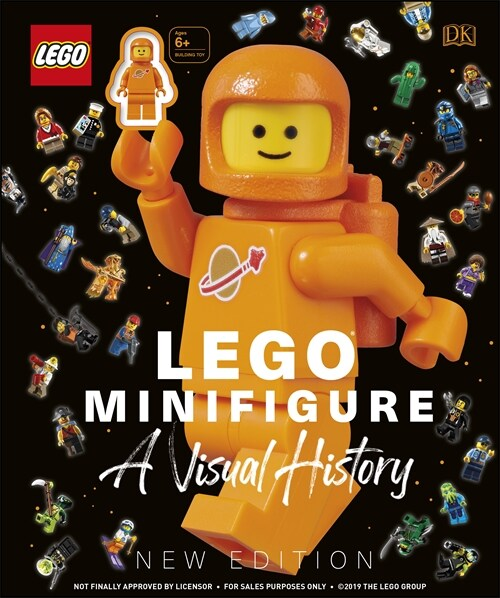 LEGO (R) Minifigure A Visual History New Edition : With exclusive LEGO spaceman minifigure! (Hardcover)