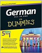 German All-In-One for Dummies [With CD (Audio)] (Paperback)