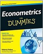 Econometrics for Dummies (Paperback)
