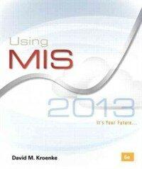 Using MIS 6th ed