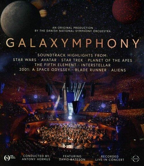 [수입] [블루레이] 갤럭심포니 - SF영화음악 콘서트