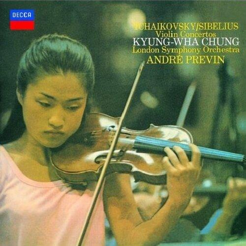 [수입] 차이콥스키 & 시벨리우스 : 바이올린 협주곡 [SHM-CD]