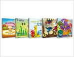 모 윌렘스의 코끼리와 꿀꿀이는 책을 좋아해 시리즈 세트 - 전5권