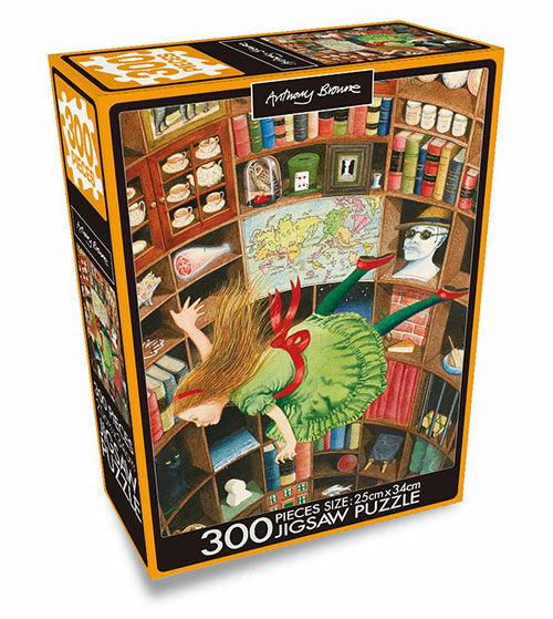 앤서니 브라운 직소퍼즐 300pcs : 이상한 나라의 앨리스
