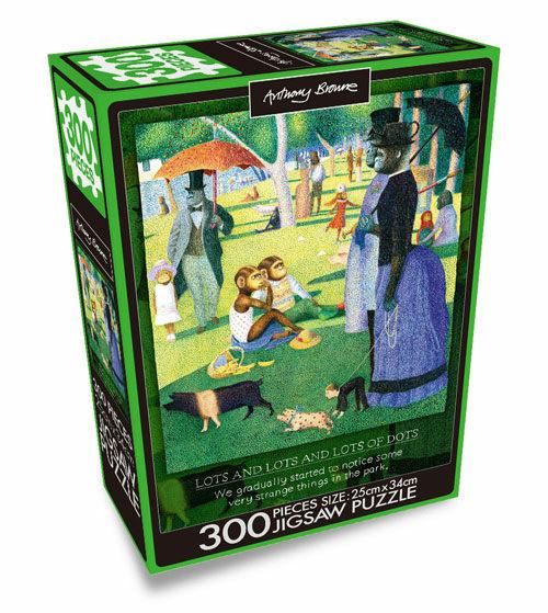 앤서니 브라운 직소퍼즐 300pcs : 그랑자트섬의 윌리