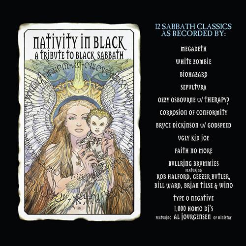 [수입] Nativity in Black: A Tribute to Black Sabbath [Limited 2LP Transparent Clear with Heavy Black Swirl Vinyl Edition][Gatefold]